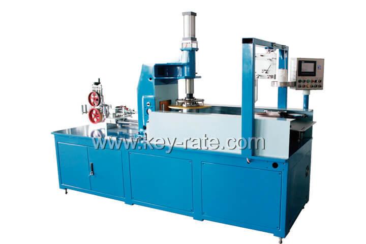 Auto Coiling & binding 2in1 machine